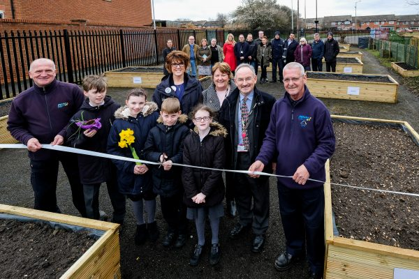 Ballantyne Community Garden project officially opened