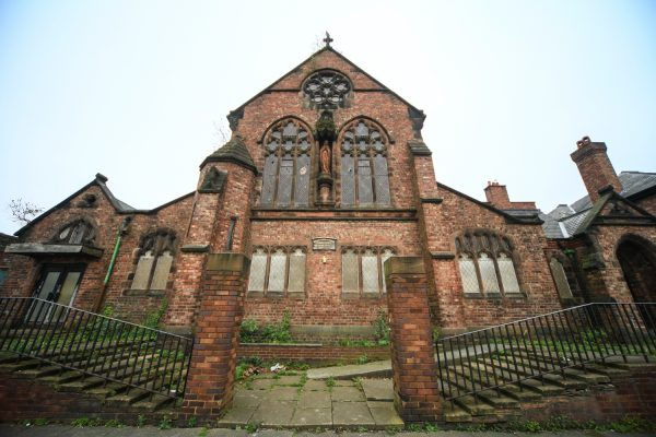 St Bernard's Church., Toxteth, Liverpool
