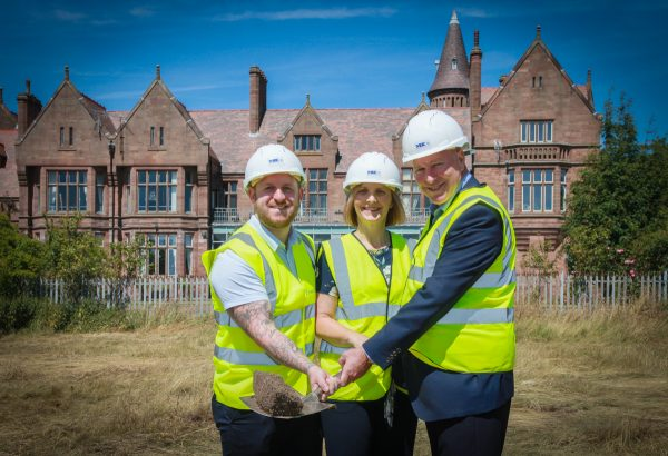Work starts on Clifton Gardens, Liverpool