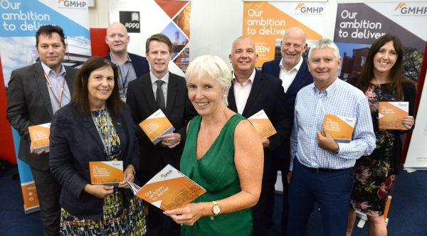 Members of the Greater Manchester Housing Providers (GMHP) at their manifesto launch