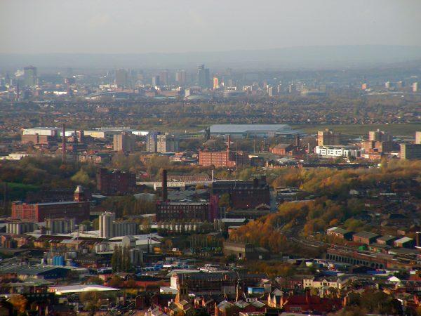 Stalybridge towards Greater Manchester