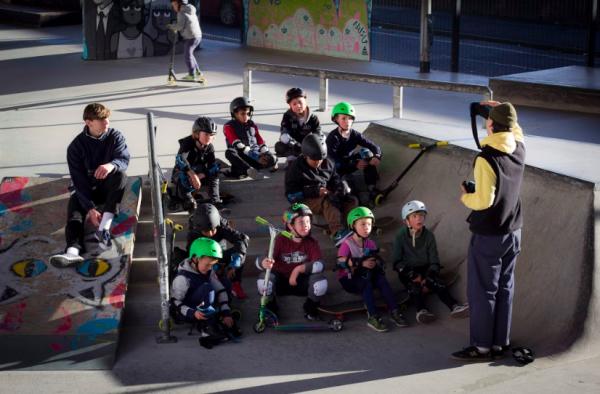 Projekts Skate Park in Manchester