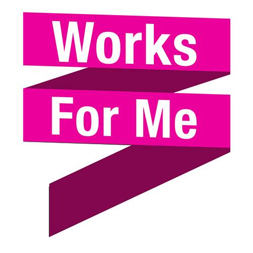 Works for Me logo