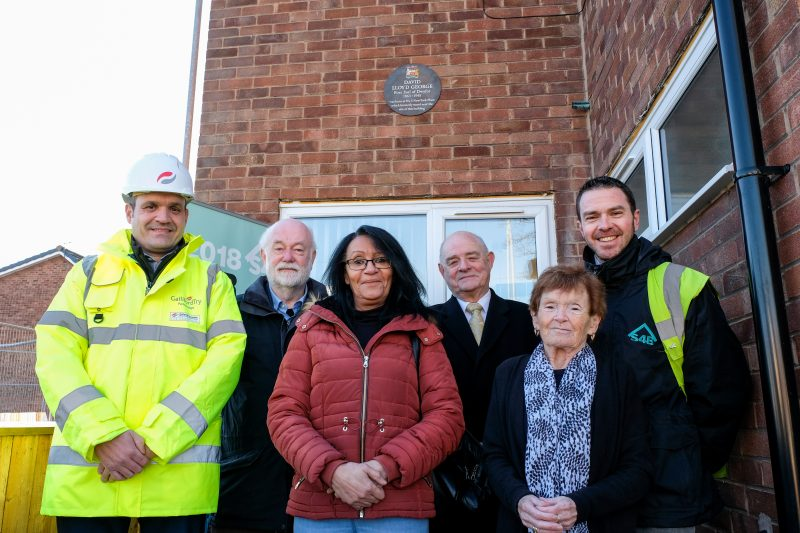S4B unveil new plaque to commemorate David Lloyd George in Brunswick