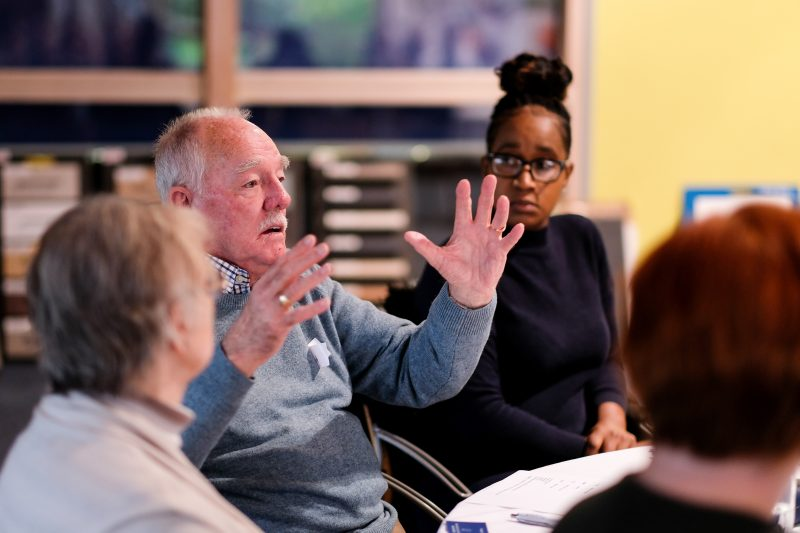 A tenant at one of our Regional Scrutiny Board meetings
