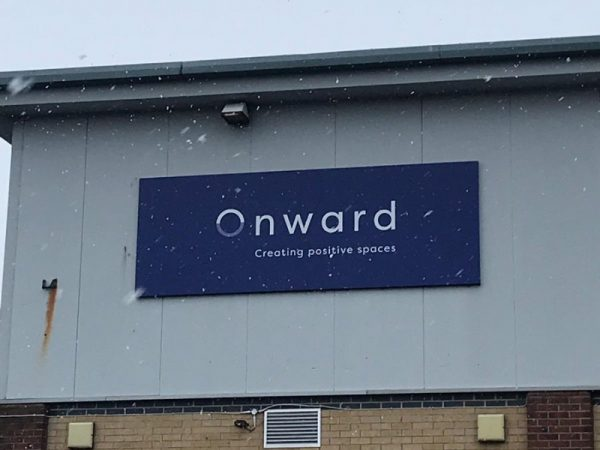 Onward offices in the snow