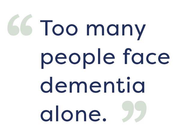 facing dementia alone