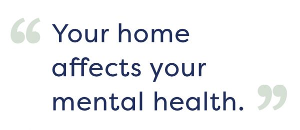 home mental health relax