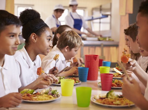 school dinners benefits