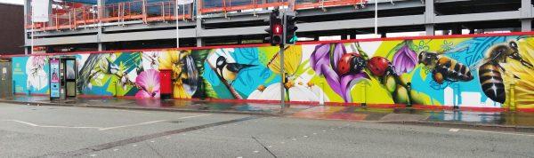 LOOPER QUBEK mural Brunswick