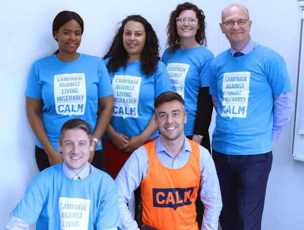 CALM Onward partnership charity