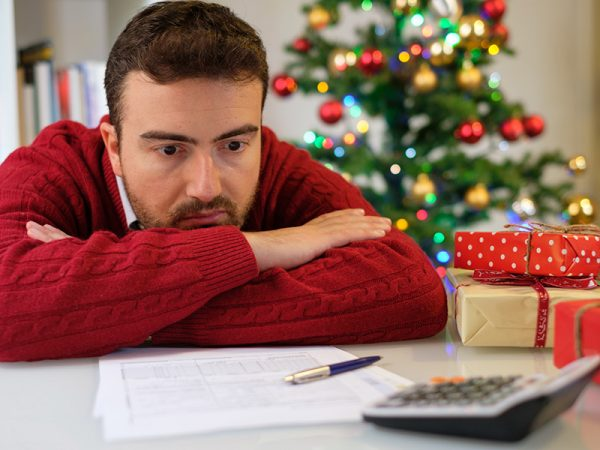 Christmas rent stress