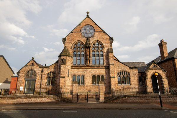 St Bernard's church toxteth